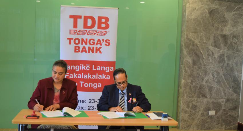 TDB signing the extension of the Government Development Loan Scheme